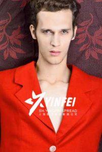 外籍男模特