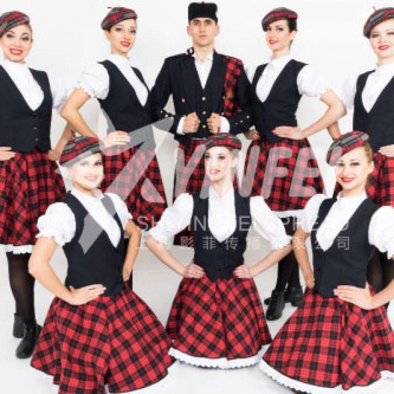 外籍舞蹈  苏格兰舞蹈